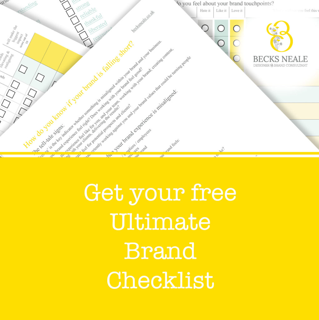 Your Ultimate Brand Checklist