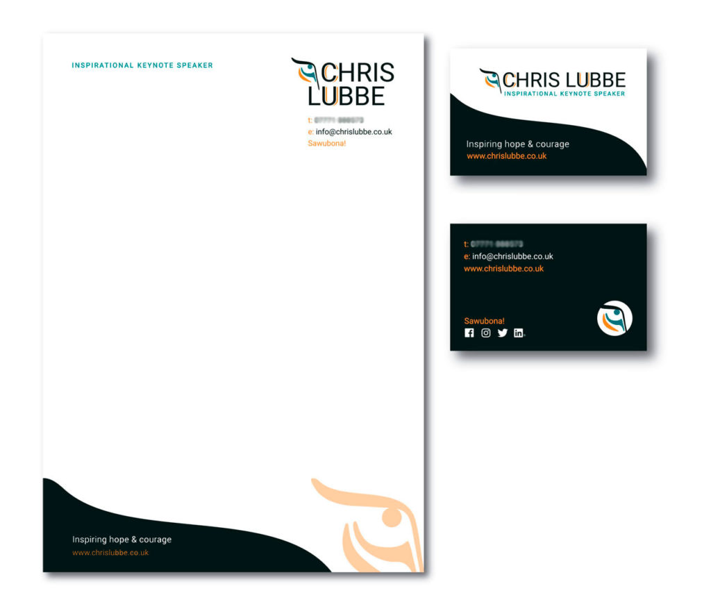 brand touchpoints, stationery design