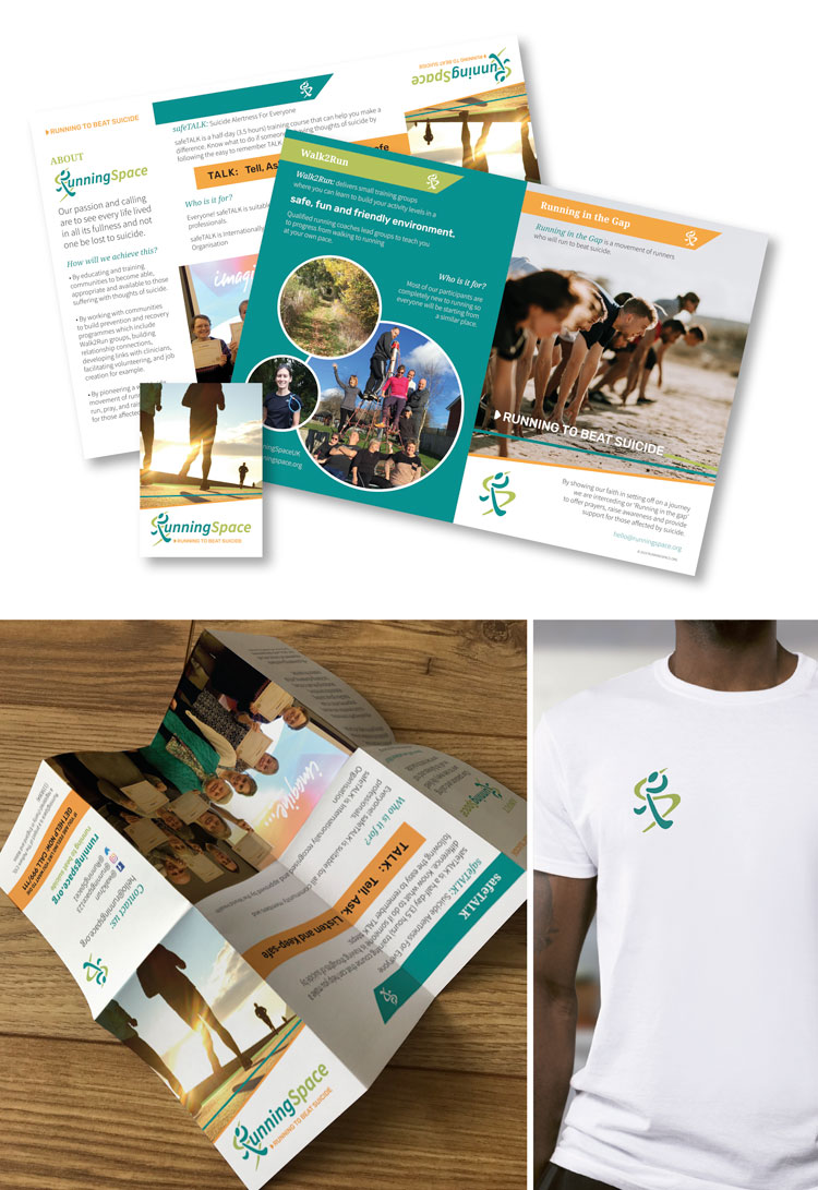 Brand design for suicide charity-brand-literature
